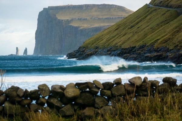 Серфинг на Фарерских островах