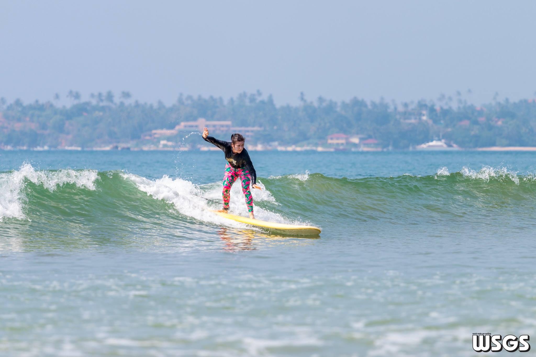 отзыв р русской школе серфинга на Шри-Ланке