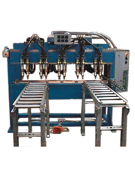 LORS Model 729 Stiffener Welder | Blue