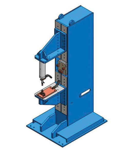 Single EconoPress Press-Type | Weld Systems Integrators