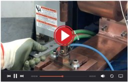 Video - Projection Welding of Fasteners | Weld Systems Integrators
