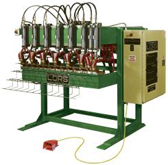 LORS Machinery Model 611 Multi-Head-Welder | Weld Systems Integrators