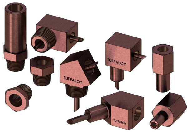 Tuffaloy Electrode Adapters | Weld Systems Integrators