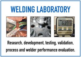 Resistance Welding Laboratory - Learn More | Weld Systems Integrators