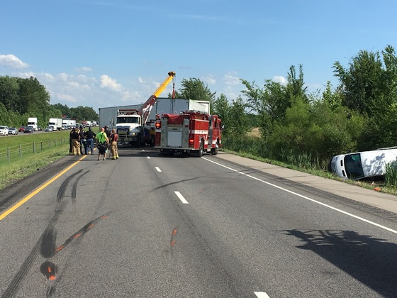 One Airlifted Following I-65 Crash in Seymour | WSLM RADIO