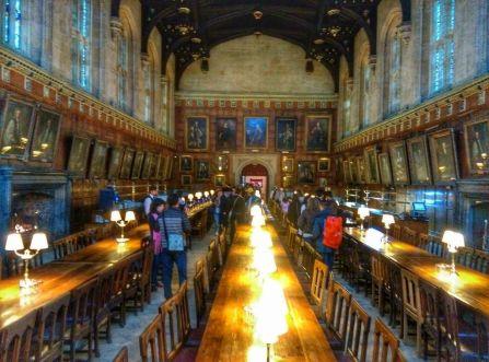 Cette salle ne vous rappelle rien ?... Harry Potter évidemment !