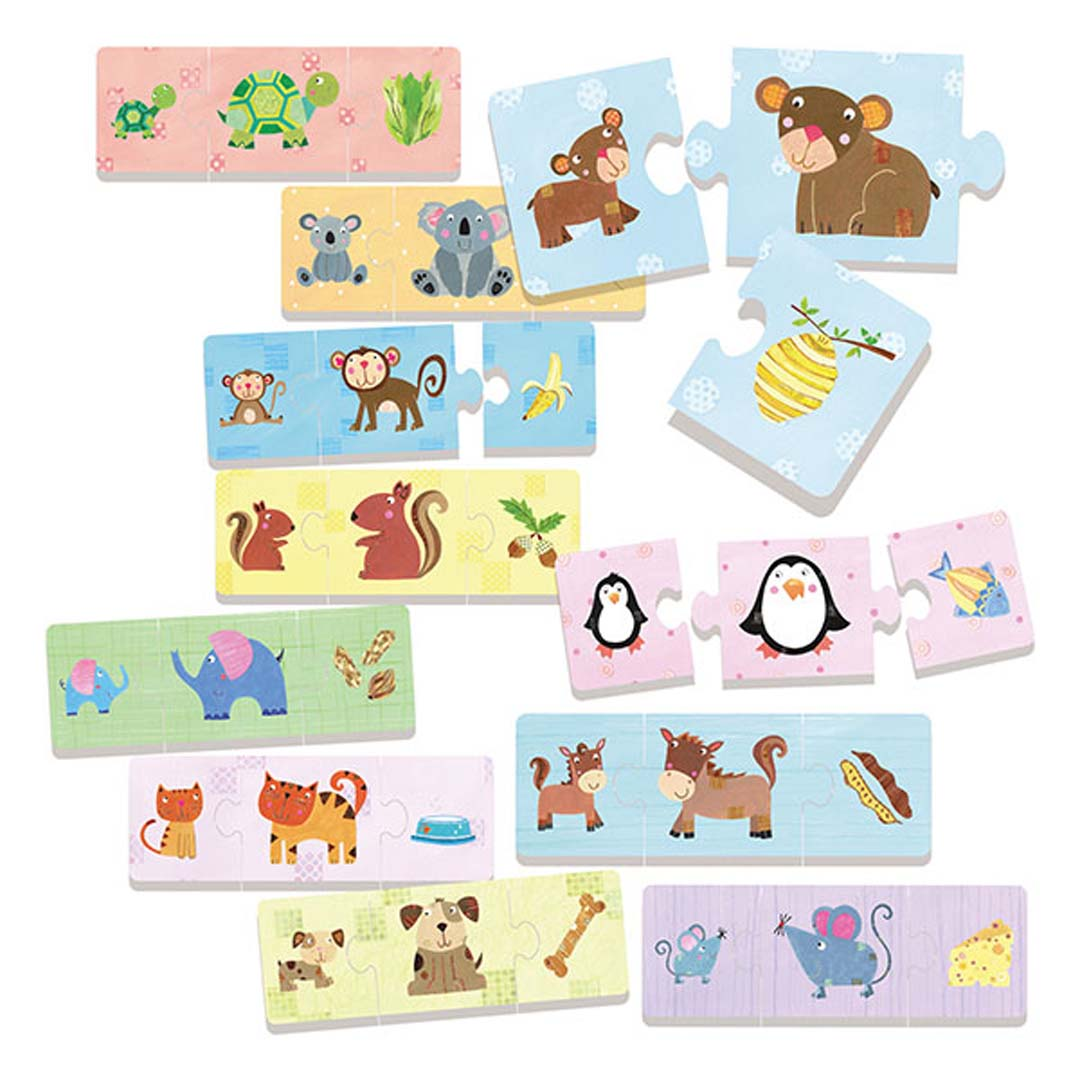 Mother And Baby Jigsaw Puzzle For 2 Year Olds