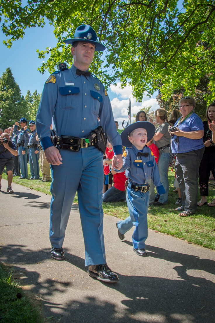 """The Little """"Chief For A Day"""" event, at the Apple Blossom Festival in Wenatchee."""