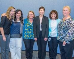 Suzee Smith with WSP Confidential Secretaries.