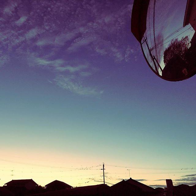 今日もおつかれさまでした。おやすみなさい。#イマソラ #mysky #sky #sunset #fine