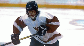 Изнаур Атиев— первый чеченский хоккеист