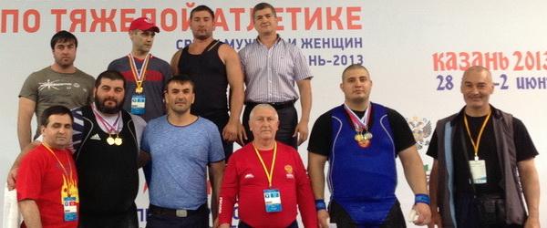 Чеченский бизнесмен наградил штангистов