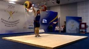 Абуев стал третьим в Европе