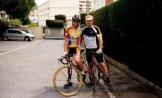 С чемпионом Франции Винсентом Жае.