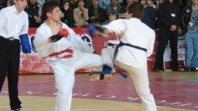 Чемпионы рукопашного боя