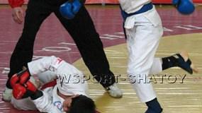 Юные бойцы на чемпионате Евразии
