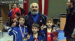 Четыре чемпиона Чекарбиева