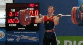 Чемпион и рекордсмен Европы из Урус-Мартана
