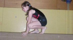 Чеченские гимнастки в Келмисе
