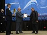 Министр Чеченской Республики по национальной политике, внешним связям, печати и информации Шаид Вахаевич Жамалдаев вручает сайту WSPORT-SHATOY главный приз конкурса