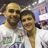 Магомед Мицаев со своим чемпионом Сафаи Насухановым