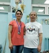 Амаля Ганбарова и Александр Петров