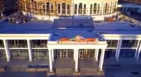 В Грозном строят грандиозный Дворец волейбола