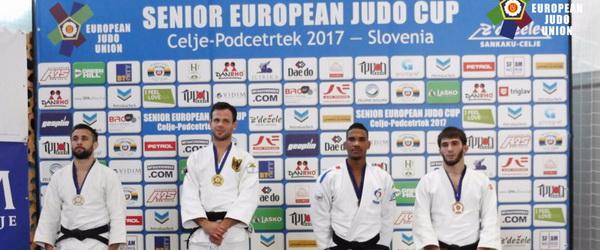 Лечи Эдиев стал третьим на Еврокубке в Словении