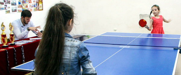 Первенство Грозного по н/теннису среди девушек