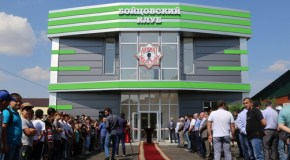 В Грозном построили новый зал для муай-тай