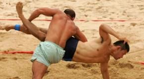 Наиб Илалдаев— чемпион Швеции по пляжной борьбе