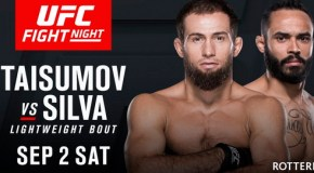 Тайсумов и Эдилов выиграли UFC Fight Night в Голландии