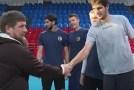 Волейбольный Дворец будет носить имя Увайса Ахтаева