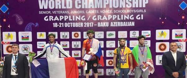 Чемпионы мира по грэпплингу из Шатоя