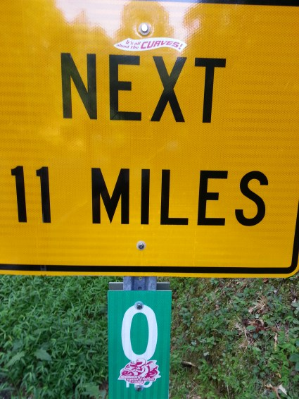 It's all about the curves [for the] next 11 miles!