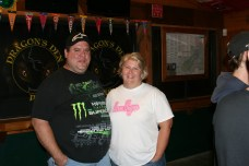 Tanya Taylor has attended all eight of the WSR events! Pictured here with husband, Mike!