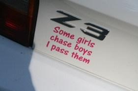 Some girls...