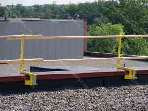 temporary guardrail systems
