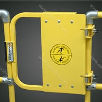 Osha Safety Gates A Comparison Of Two Self Closing