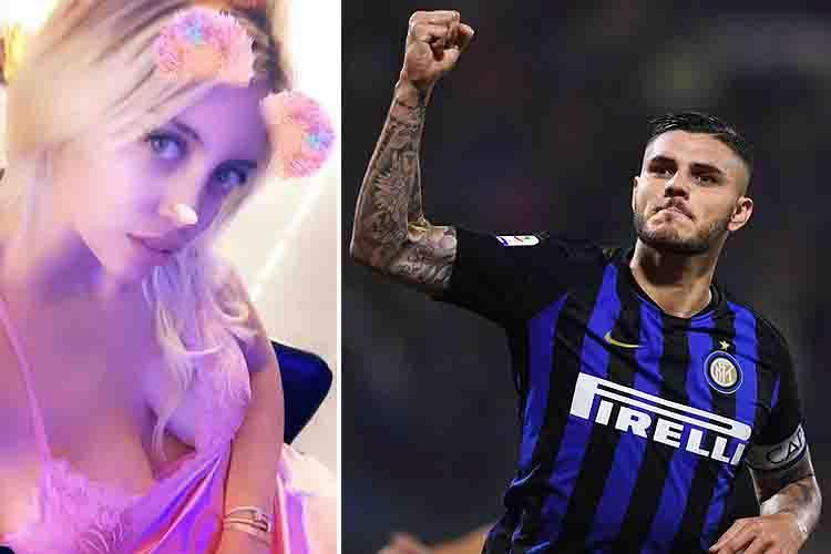 Valentino, constantino and benedict are his three children maxi lopez with wanda nara and on father's day, celebrated recently all over the. Mauro Icardi's wife Wanda takes break from lining up