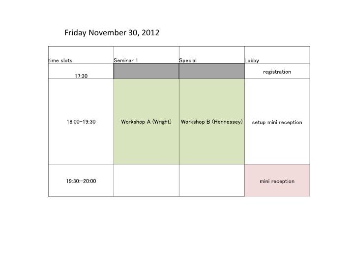Block Schedule (1/3)
