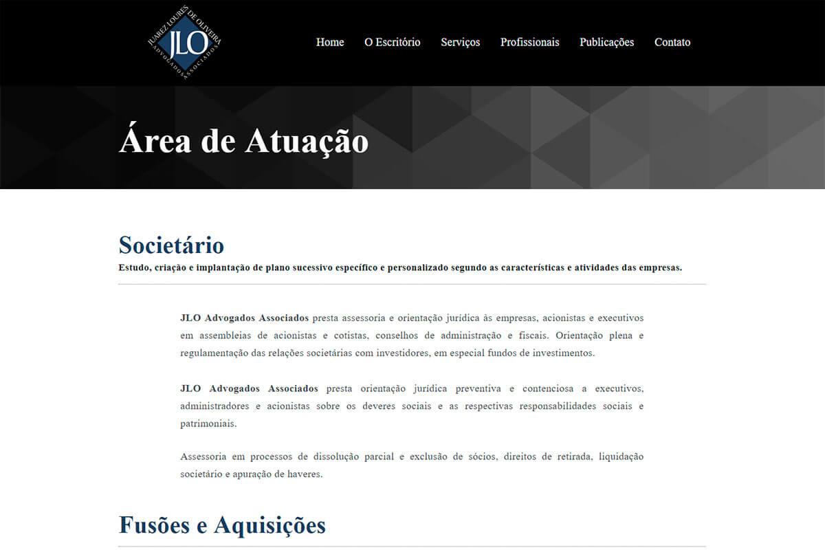 Portfólio - JLO Advogados