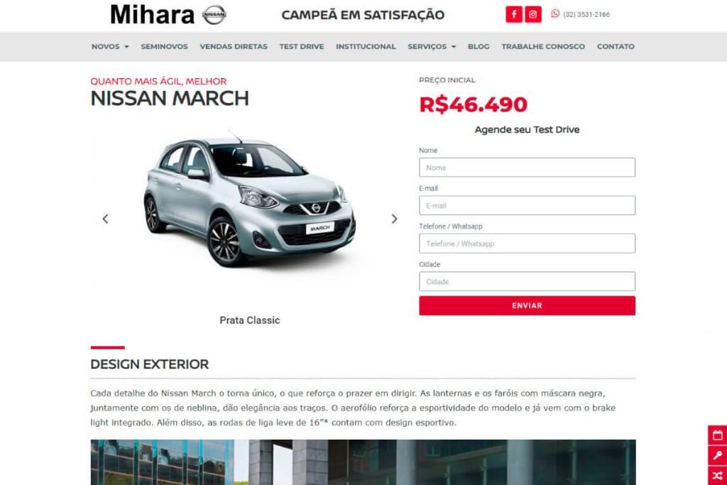 Portfólio - Nissan Mihara