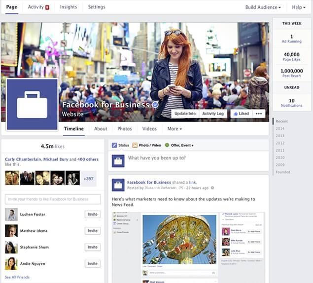 Facebook anuncia novo visual para Páginas 1