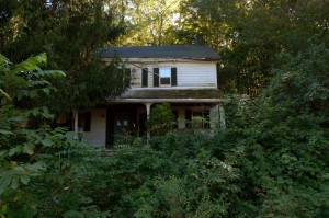 718 Binnewater Lane, Rosendale NY before rehabilitation began