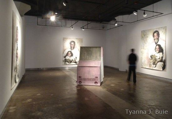 Tyanna's work created during her Mary L. Nohl Fellowship year, installed here at INOVA in 2013.