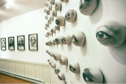 Eye Witness, 2001. Photographic emulsion on cast handmade paper