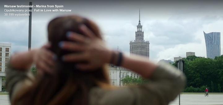 Hiszpanka zakochała się w Warszawie