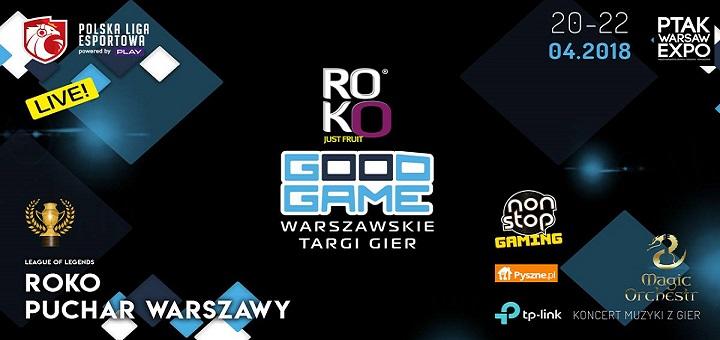 Targi gier - ROKO Good Game 2018