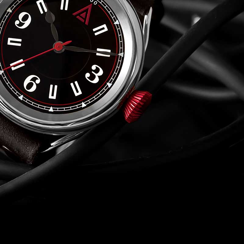 CLASSIC WATCHES BY WT AUTHOR BLACK
